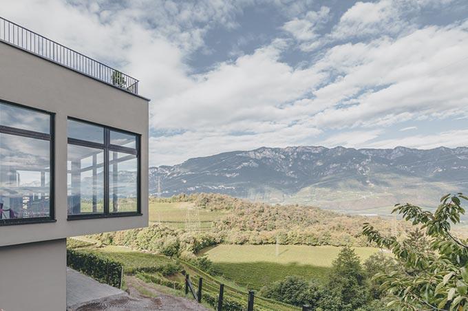 Montagna near Ora panoramic view