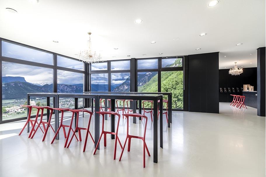 Pfitscher panoramic view room