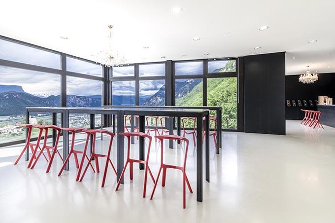 Casa Clim Wine sala panoramica